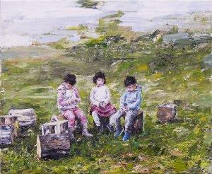 Three Bored Children